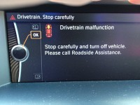 Drivetrain fault display