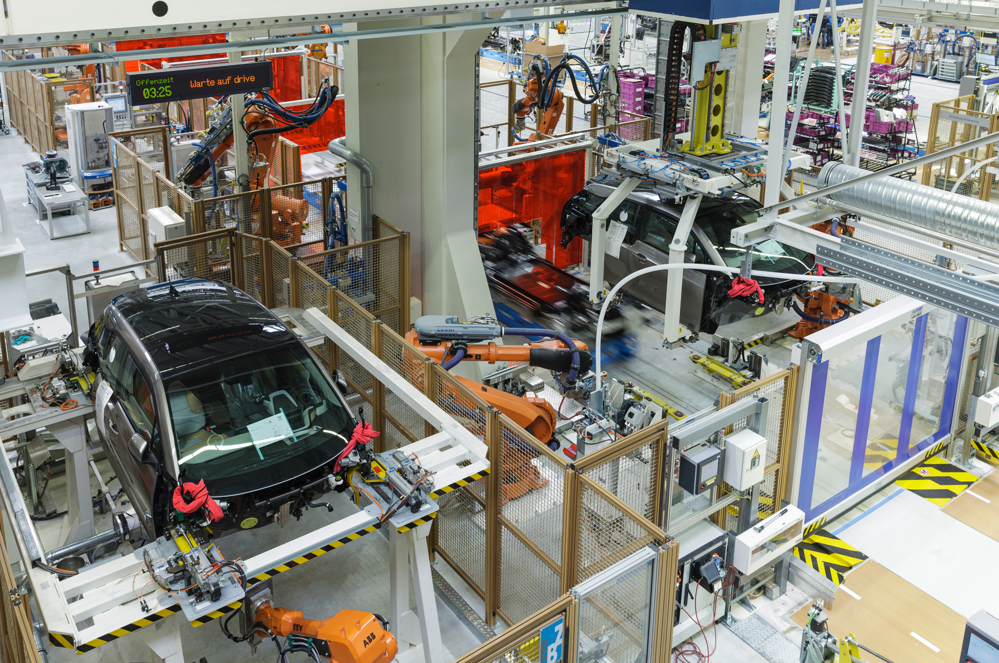 BMW i3 production line