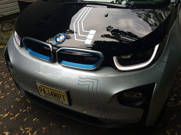 MPT BMW i3 AE Stickers Front