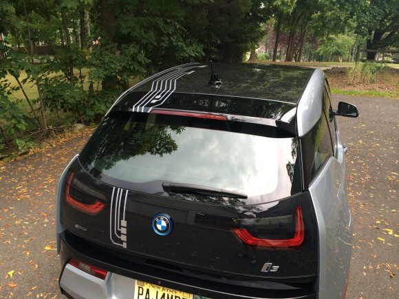 MPT BMW i3 AE Stickers Rear
