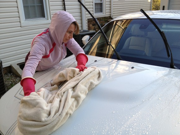 Washing Car In Winter >> Washing The Electric Cars In Winter Electragirl